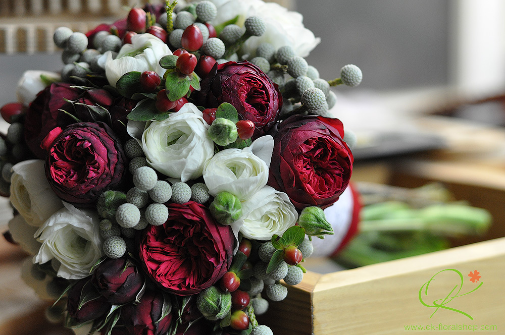 Букет нареченої. Майстерня квітів Окси Кісь  флористика на весілля ... 32578290d9108
